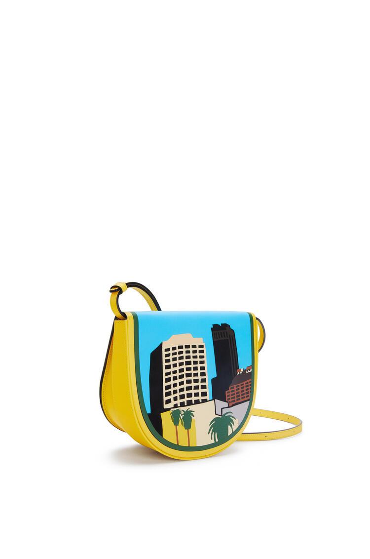 LOEWE L.A. Series Heel bag in soft calfskin Yellow/Multicolour pdp_rd