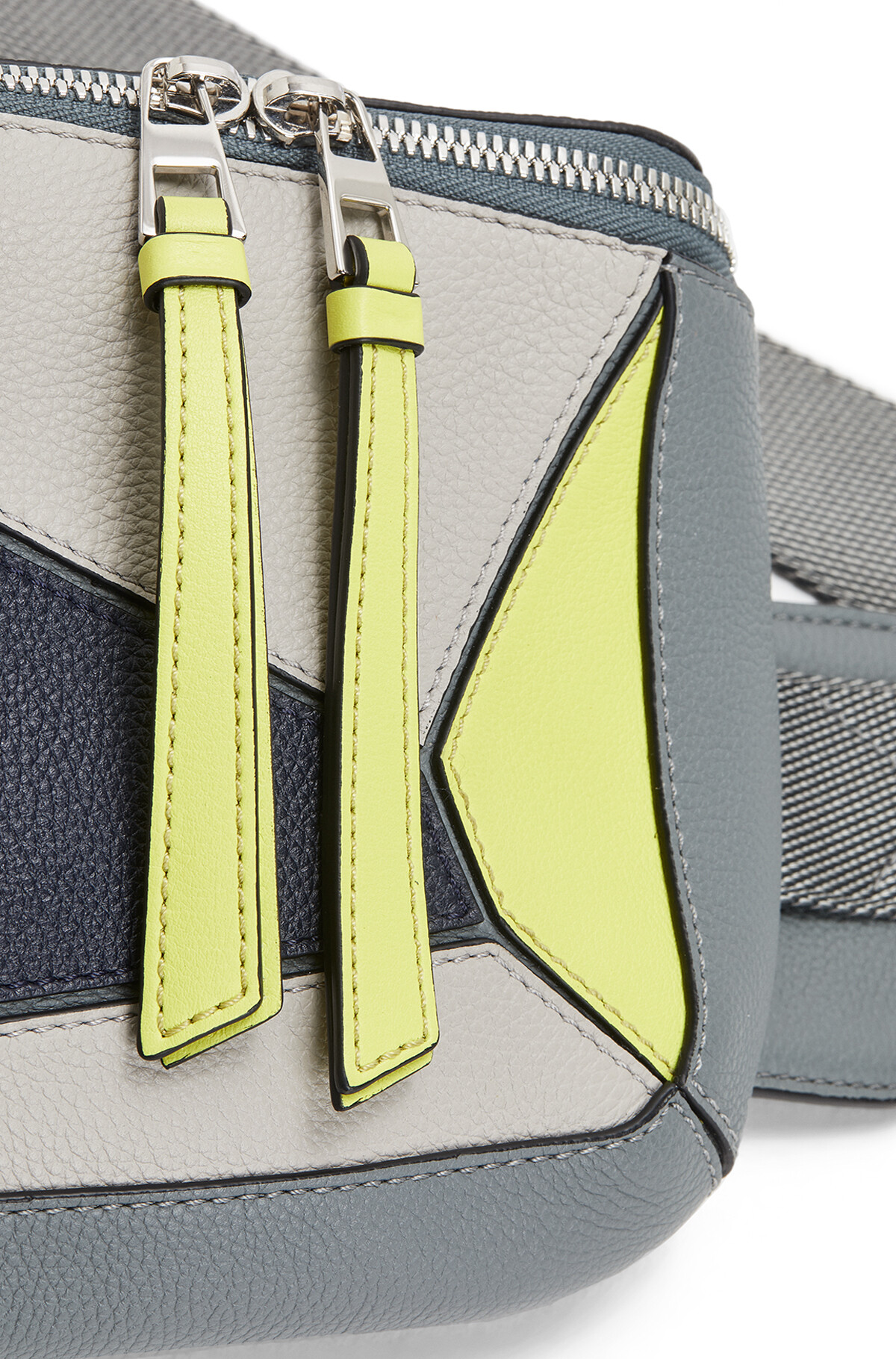 LOEWE Puzzle Sling Grey/Yellow front