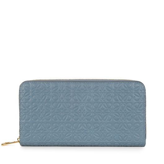 LOEWE Zip Around Wallet Stone Blue all