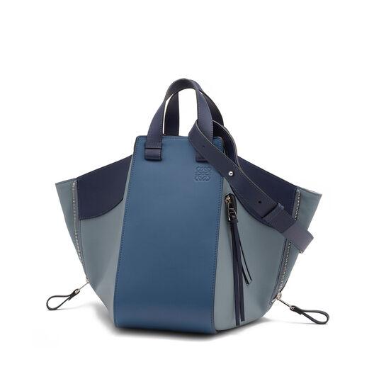 LOEWE Hammock Medium Bag Varsity Blue Multitone all