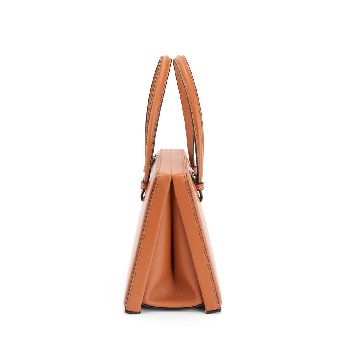 LOEWE Postal Bag Tan front