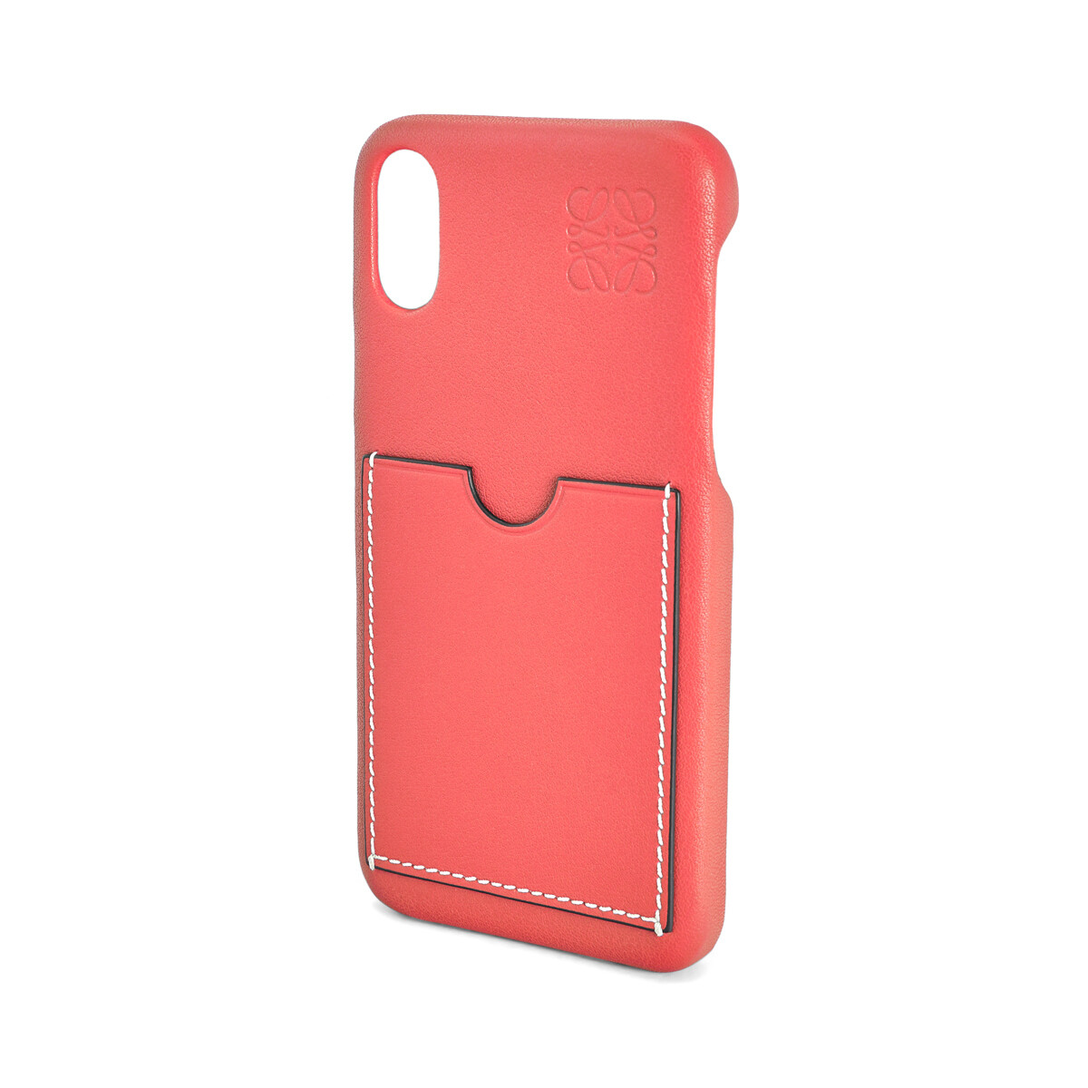 LOEWE Cover For Iphone X Poppy Pink front
