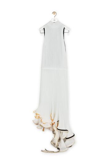 LOEWE Halterneck Jellyfish Dress ホワイト front