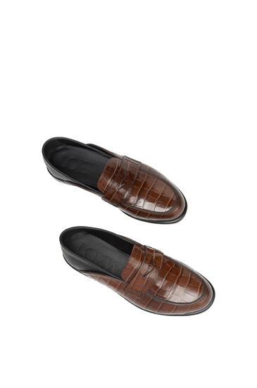 LOEWE Slip On Loafer Brown/Black pdp_rd