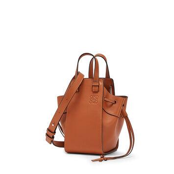 LOEWE Hammock Dw Mini Bag Tan front
