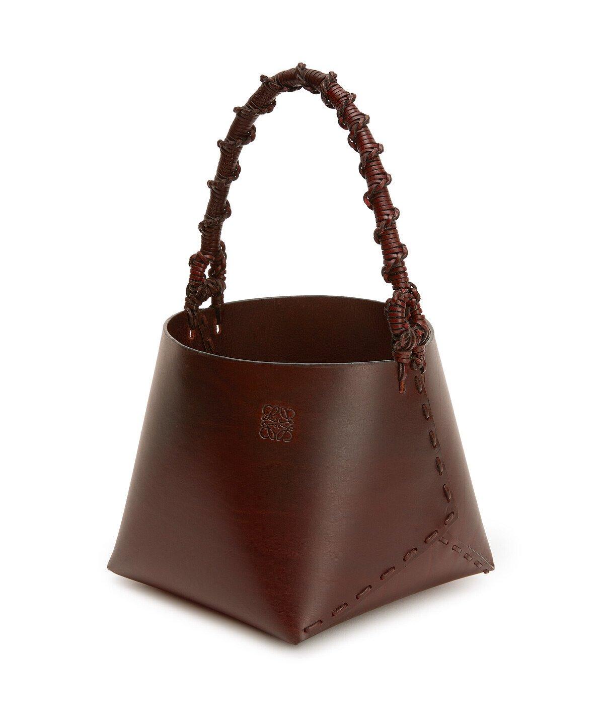 LOEWE Bucket Square Chestnut front