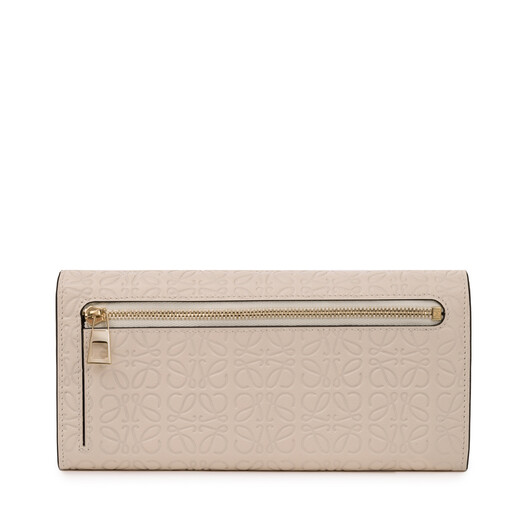 LOEWE Repeat Continental Wallet 乳白色 front