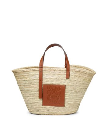 LOEWE Basket Large Bag Natural/Tan front