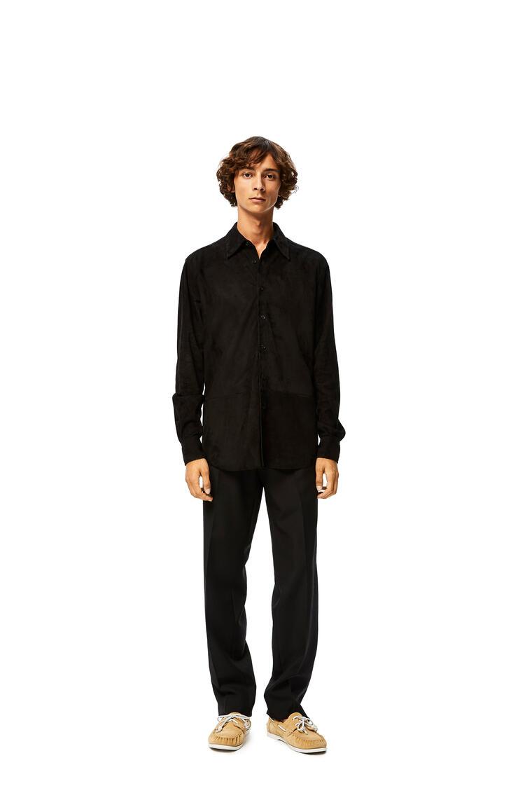 LOEWE Shirt in suede Black pdp_rd