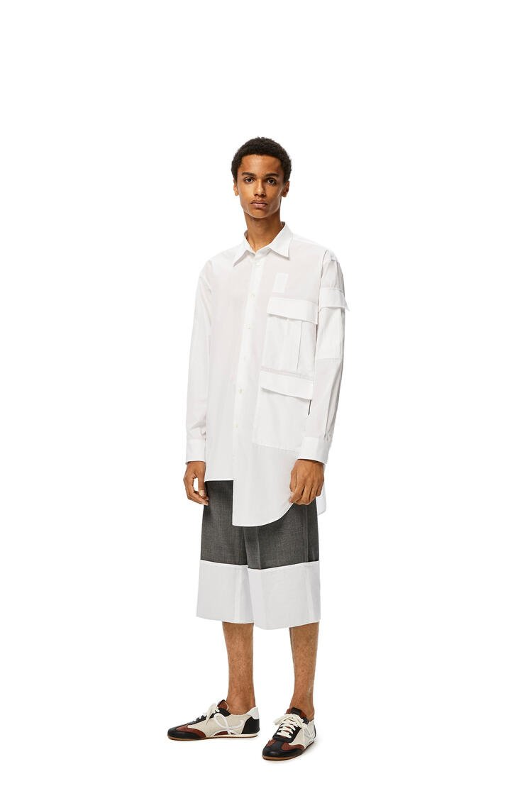 LOEWE Multipocket shirt in cotton White pdp_rd