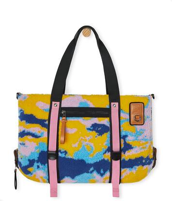 LOEWE Eye/Loewe/Nature Tote Camouflage Bag Multicolor front