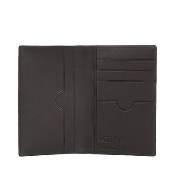 LOEWE Compact Wallet Navy Blue front