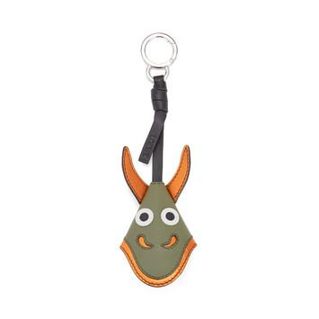 LOEWE Dragon Key Charm Moss front