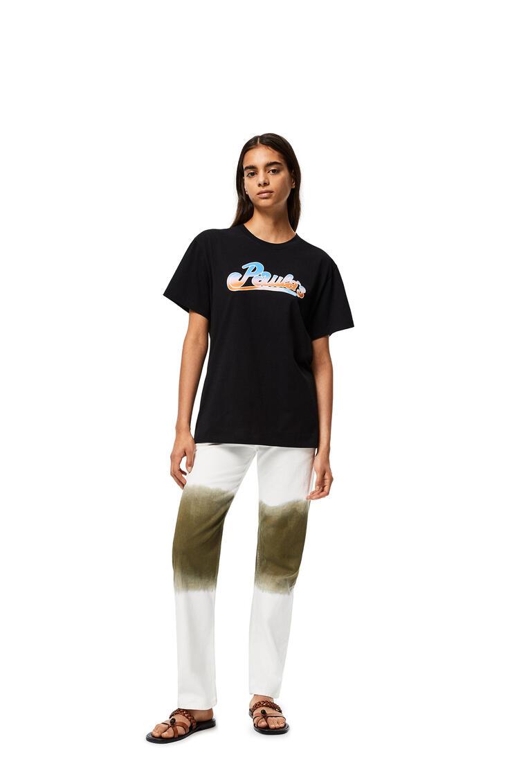 LOEWE T-shirt in cotton Black pdp_rd
