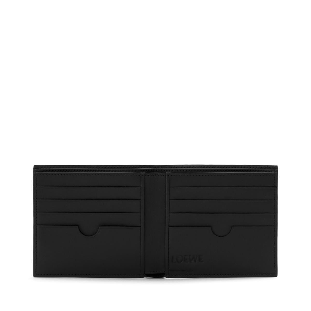 LOEWE Bifold Wallet Black all