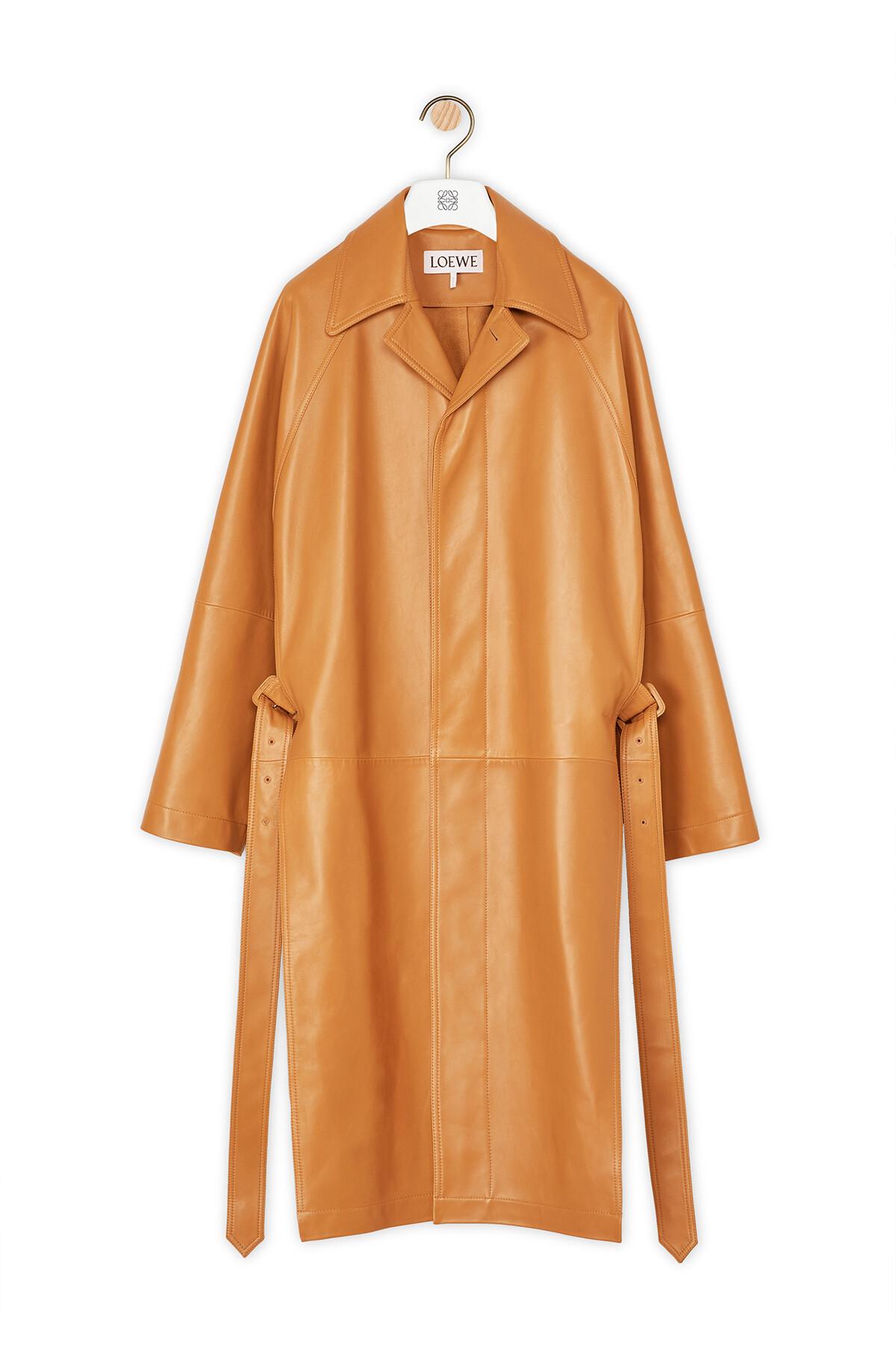 LOEWE Coat Toffee front