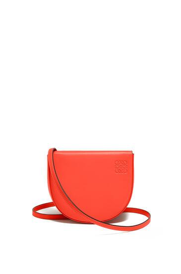 LOEWE Heel bag in soft calfskin Vermillion pdp_rd