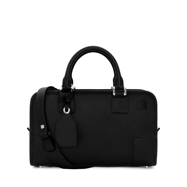 LOEWE Amazona 28 bag in classic calfkin Black/Palladium pdp_rd