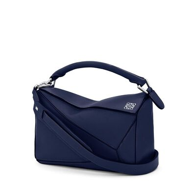 LOEWE Puzzle Small Bag Marine front