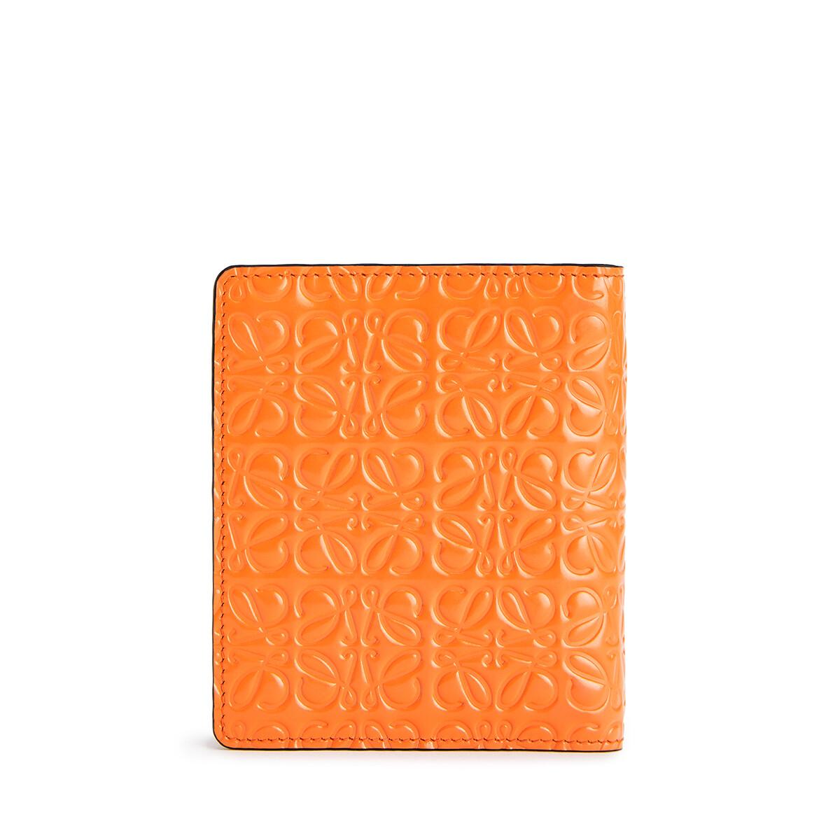 LOEWE Cartera Compact Zip Naranja front