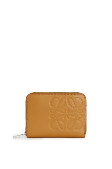 LOEWE 6 Card Zip Wallet In Smooth Calfskin Honey pdp_rd
