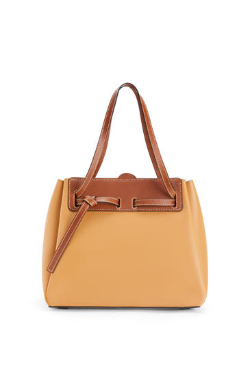 LOEWE Lazo shopper bag in natural calfskin Light Caramel pdp_rd