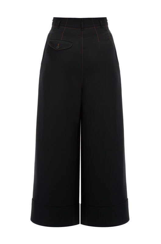 LOEWE Flare Trousers Negro all