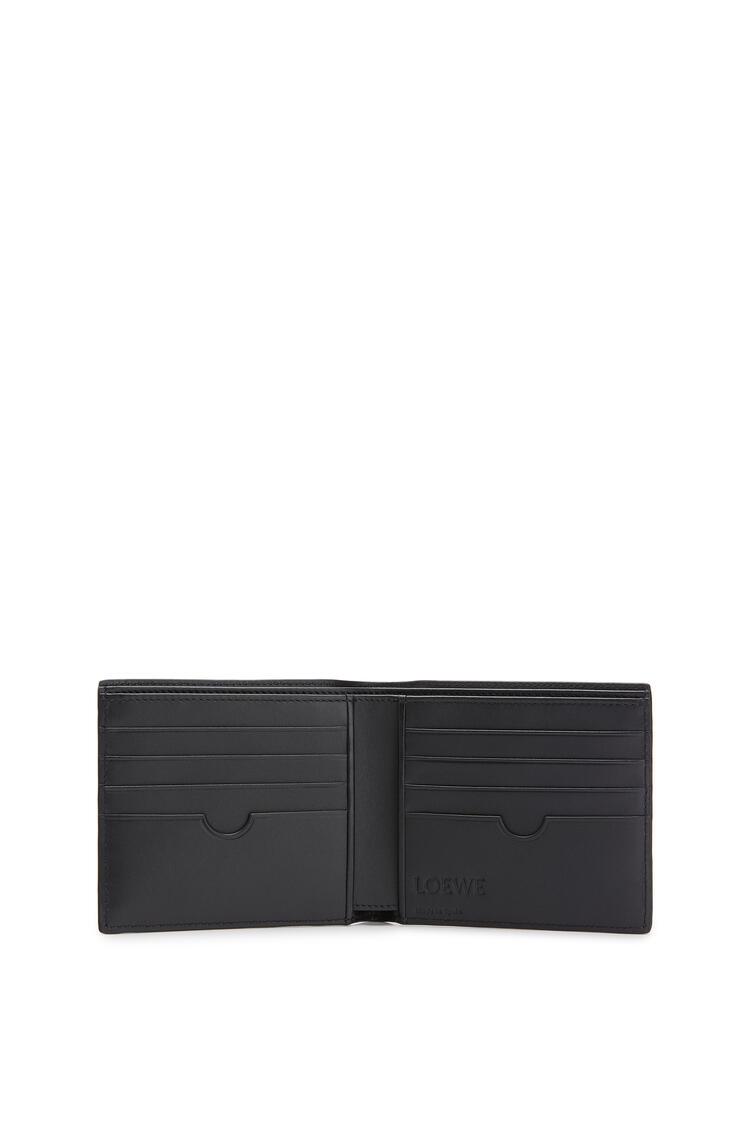 LOEWE Bifold wallet in smooth calfskin Indigo pdp_rd
