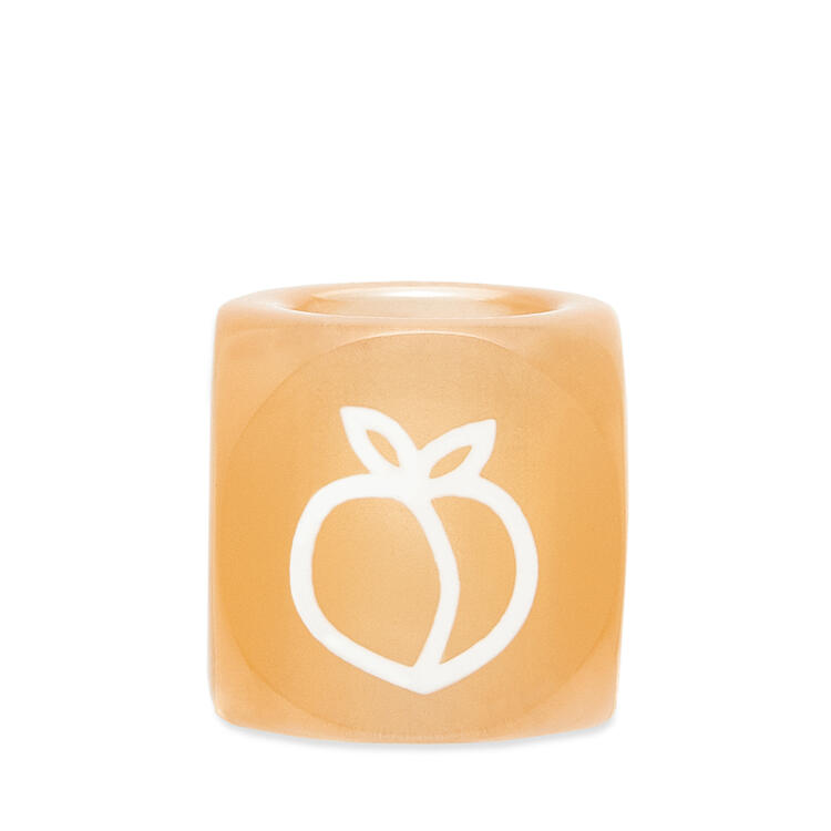 LOEWE Small Fruit dice in acrylic Peach pdp_rd