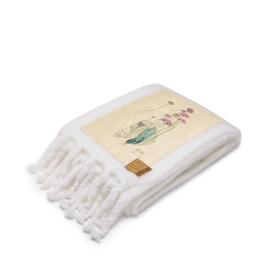 LOEWE 130X200 Blanket Botanical Blanco all