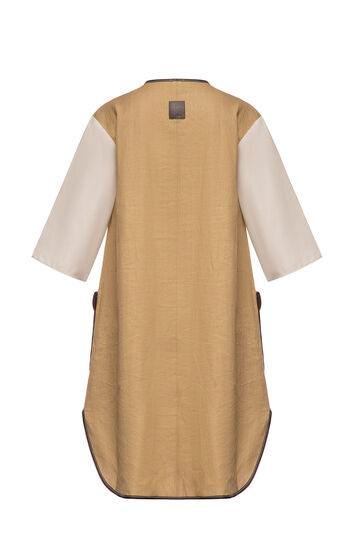 LOEWE Dress Saharienne Beige front