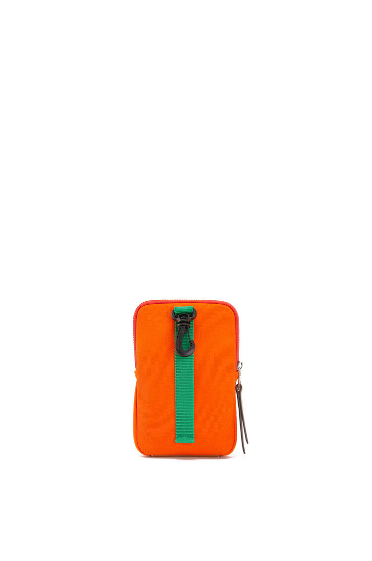LOEWE Case in canvas Violet/Orange pdp_rd