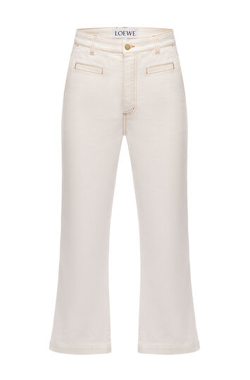 LOEWE Trousers Blanco front