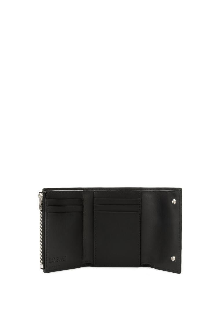 LOEWE Small Vertical Wallet In Calfskin Black pdp_rd