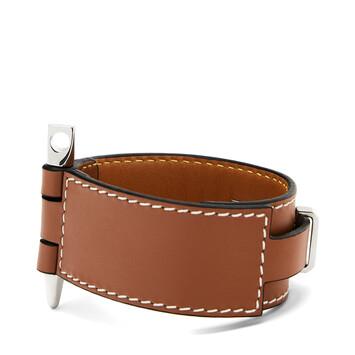 LOEWE Gate  Bracelet Tan front