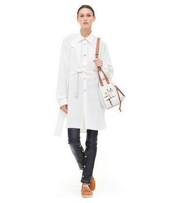 LOEWE Strap Oversize Shirt Blanco front