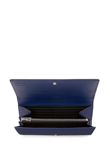 LOEWE Continental wallet in calfskin Navy Blue pdp_rd