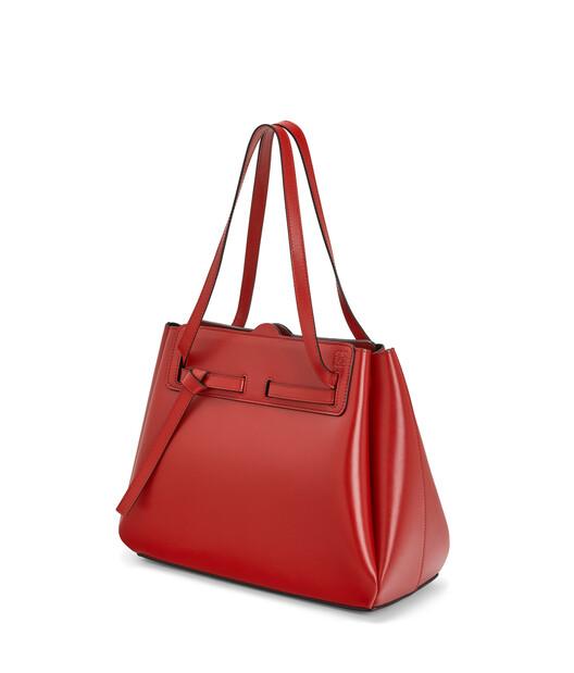 LOEWE 大尺寸Lazo手袋 胭脂红 front