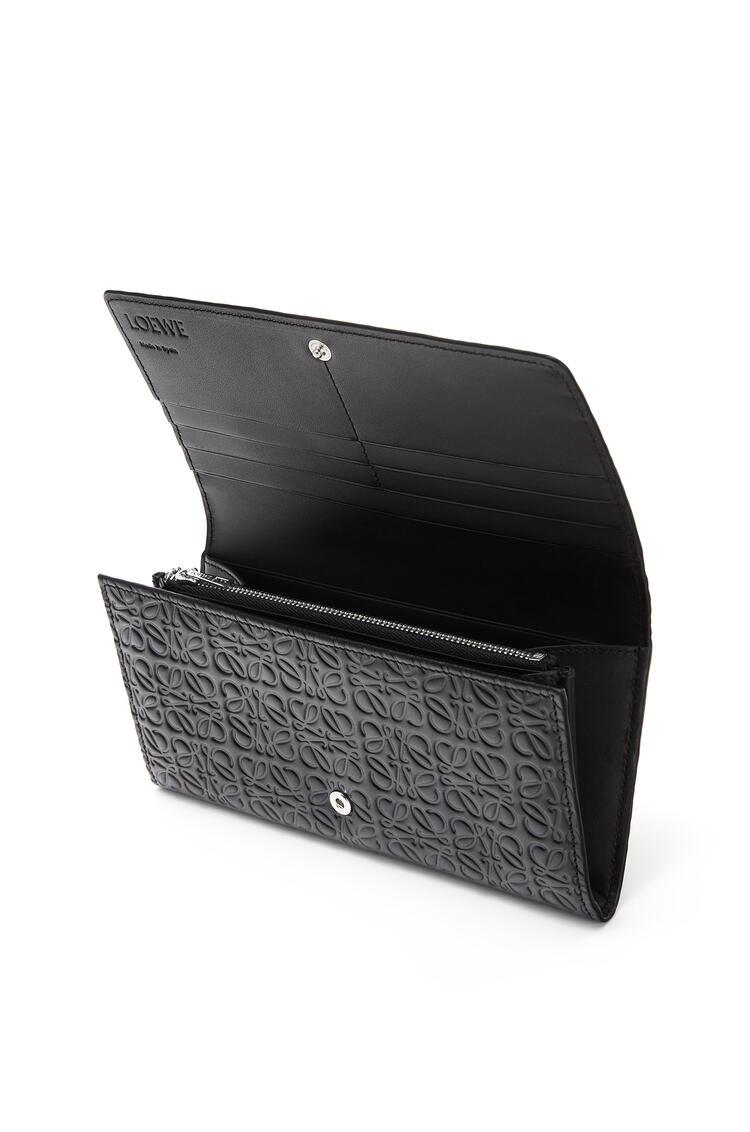 LOEWE Continental wallet in calfskin Black pdp_rd