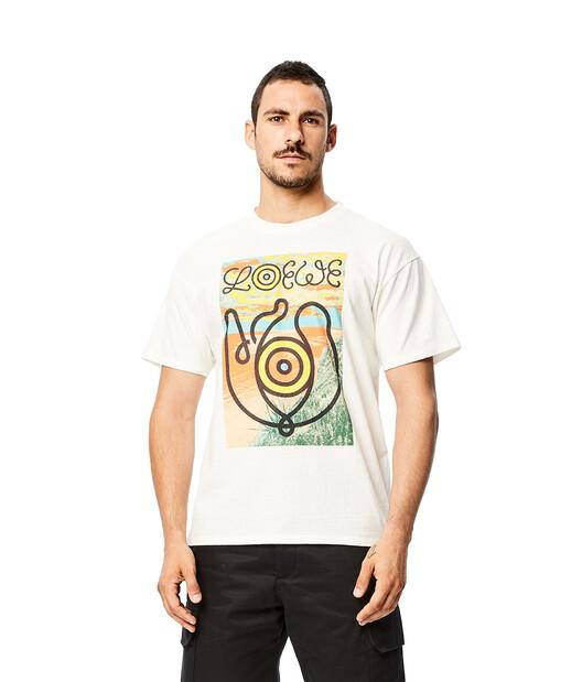 LOEWE T-Shirt Eln White front