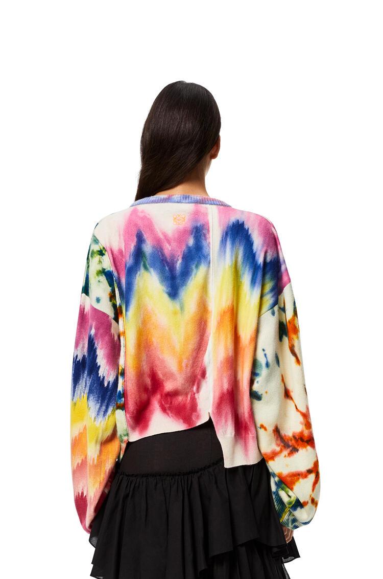 LOEWE セーター (タイダイ カシミヤ) マルチカラー/ブルー pdp_rd