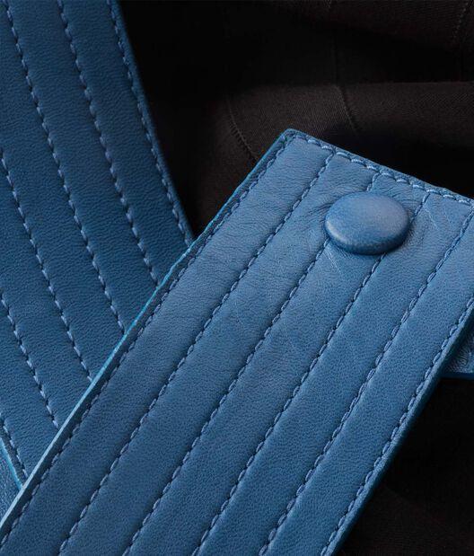 LOEWE Asymmetric Skirt Negro/Azul all