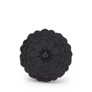 LOEWE Stud Flower 黑色 front