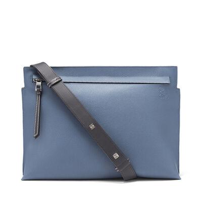 LOEWE T Messenger Bag Indigo/Marine front