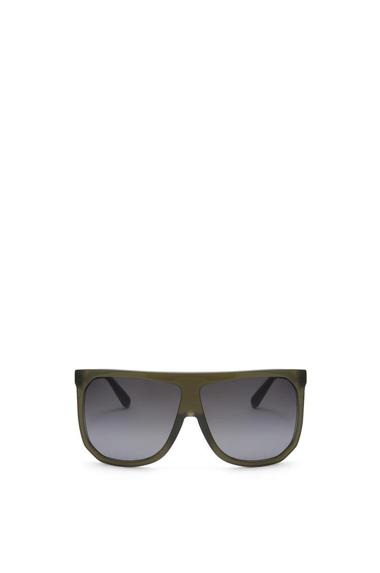 LOEWE Filipa Sunglasses in acetate Milky Khaki pdp_rd