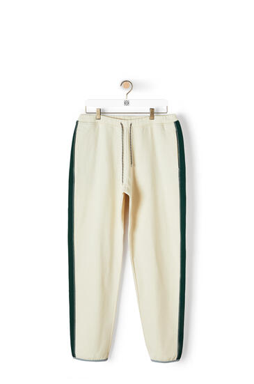 LOEWE Fleece trousers in cotton Calico pdp_rd