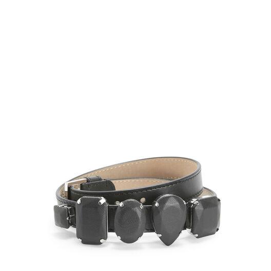 LOEWE Jeweled Bracelet Black front