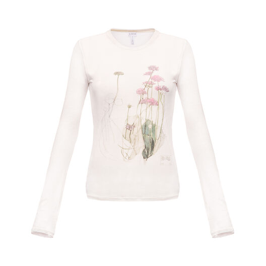 Long Sleeve T-Shirt Botanical