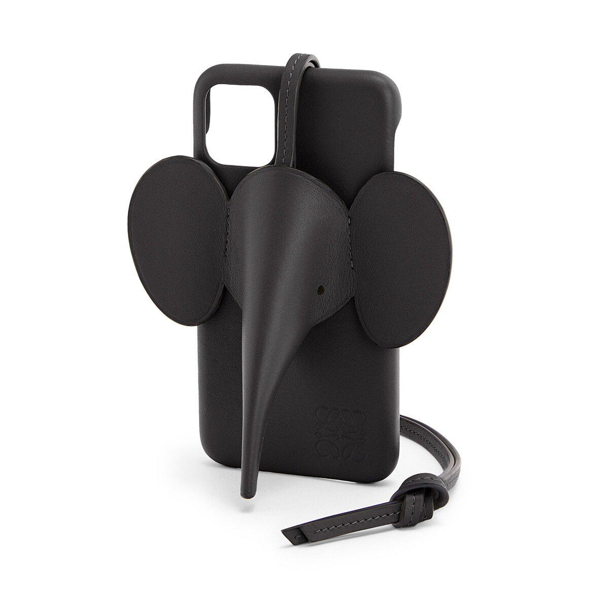 LOEWE Elephant Cover For Iphone 11 黑色 front