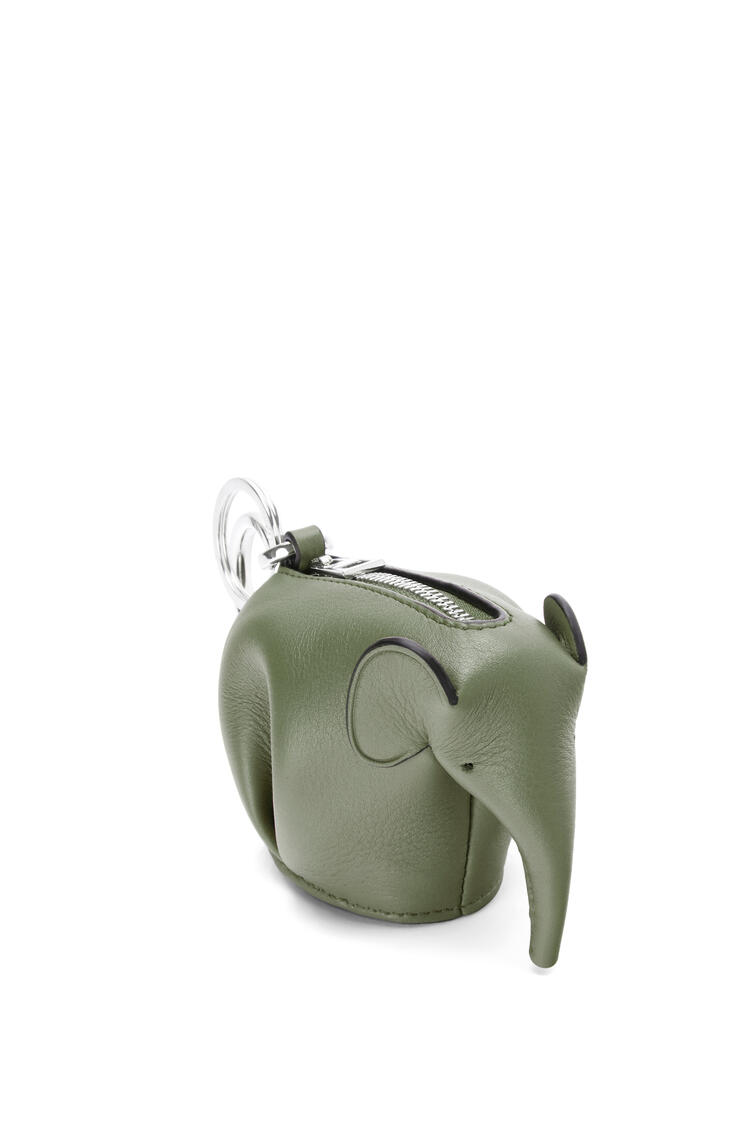 LOEWE Elephant charm in classic calfskin Avocado Green pdp_rd